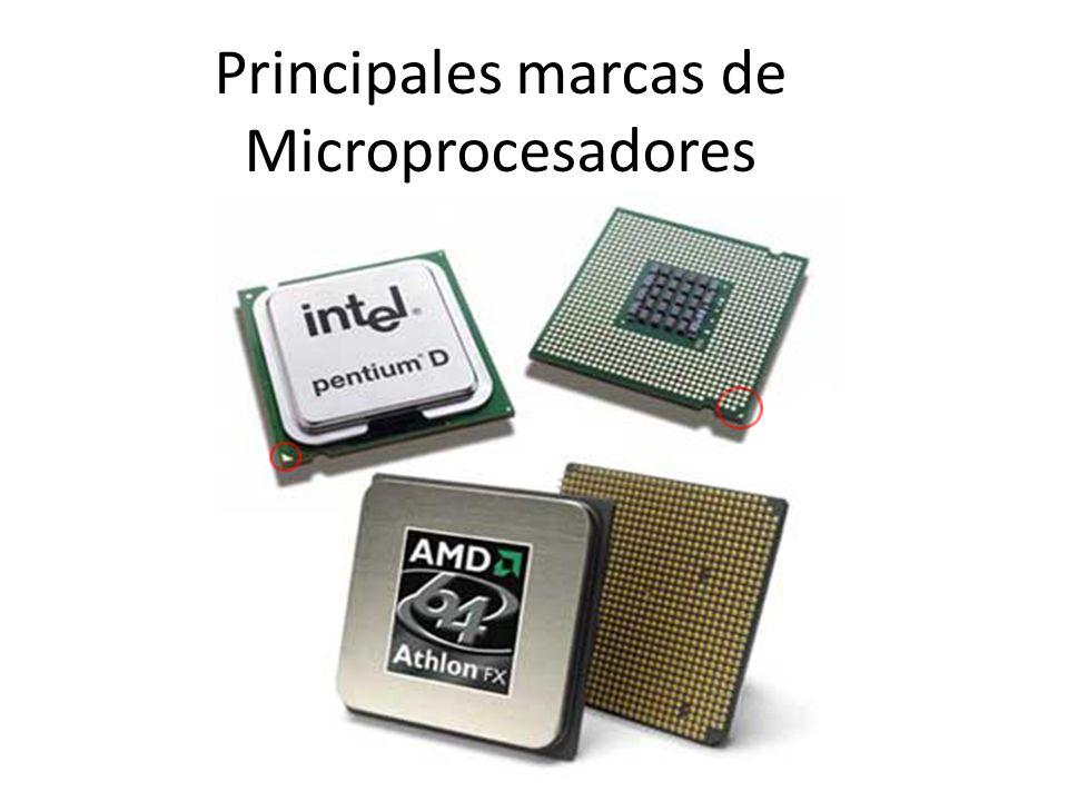 Principales marcas de Microprocesadores