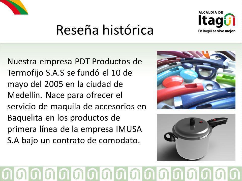 En el 2008 comenzamos a producir maquila a INDUSTRIAS HACEB S.A.