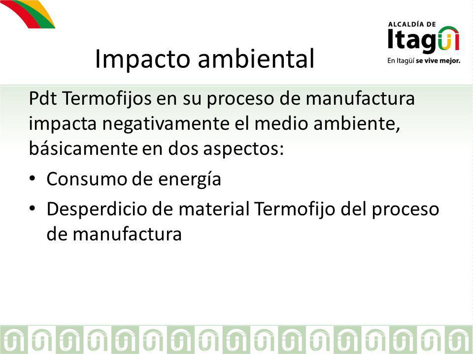 Consumo de energía La línea de procesamiento de PDT Termofijos esta conformado de la siguiente manera: InyecciónMetalmecánicaEnsamble