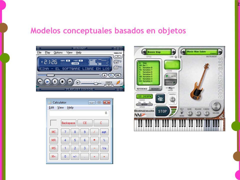 z Modelos conceptuales basados en objetos