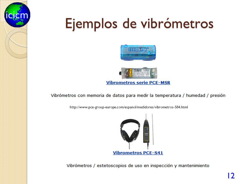 icicm Ejemplos de vibrómetros 12 http://www.pce-group-europe.com/espanol/medidores/vibrometros-584.html