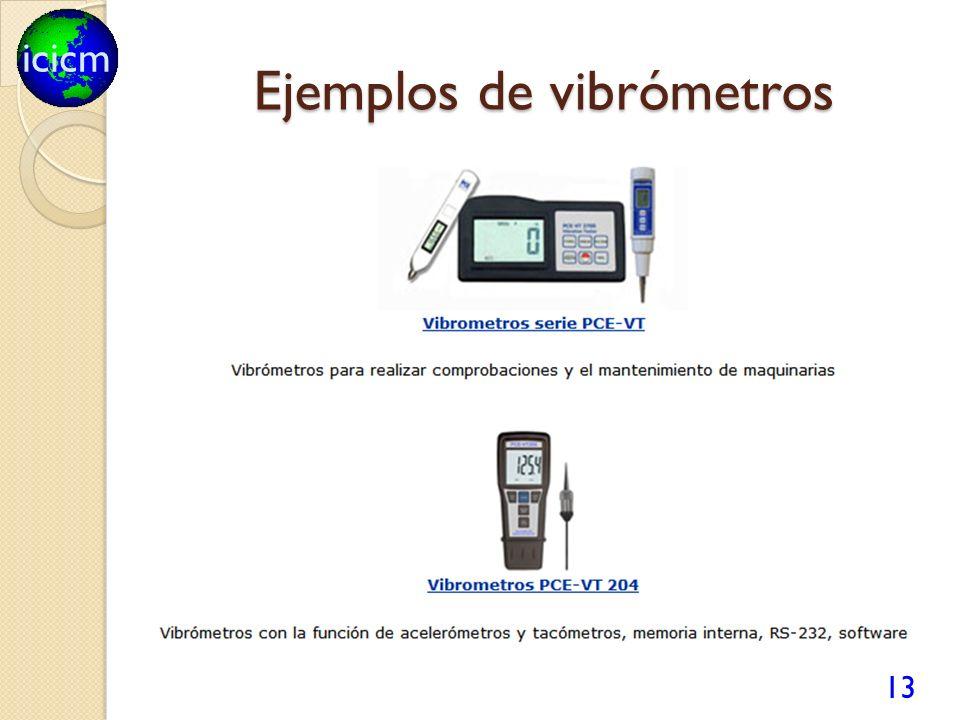 icicm Ejemplos de vibrómetros 13
