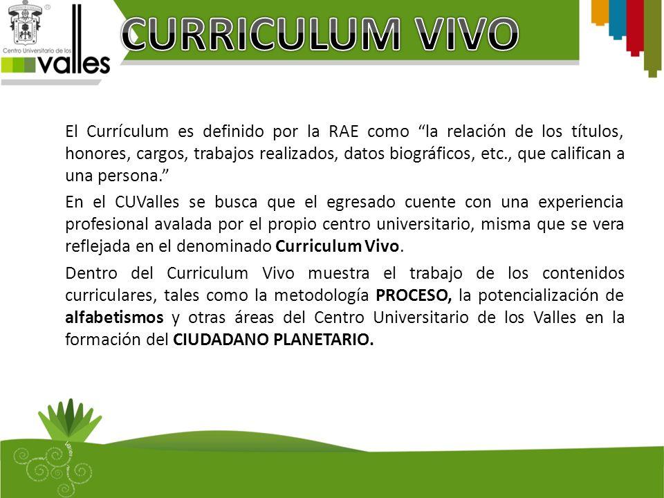 El Currículum es definido por la RAE como la relación de los títulos, honores, cargos, trabajos realizados, datos biográficos, etc., que califican a u