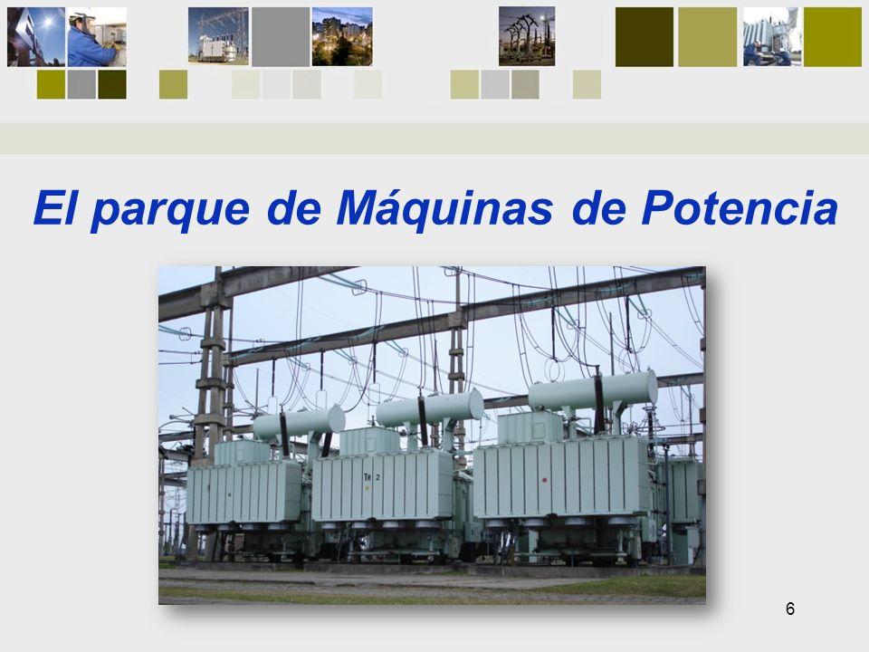 El parque de Máquinas de Potencia 6