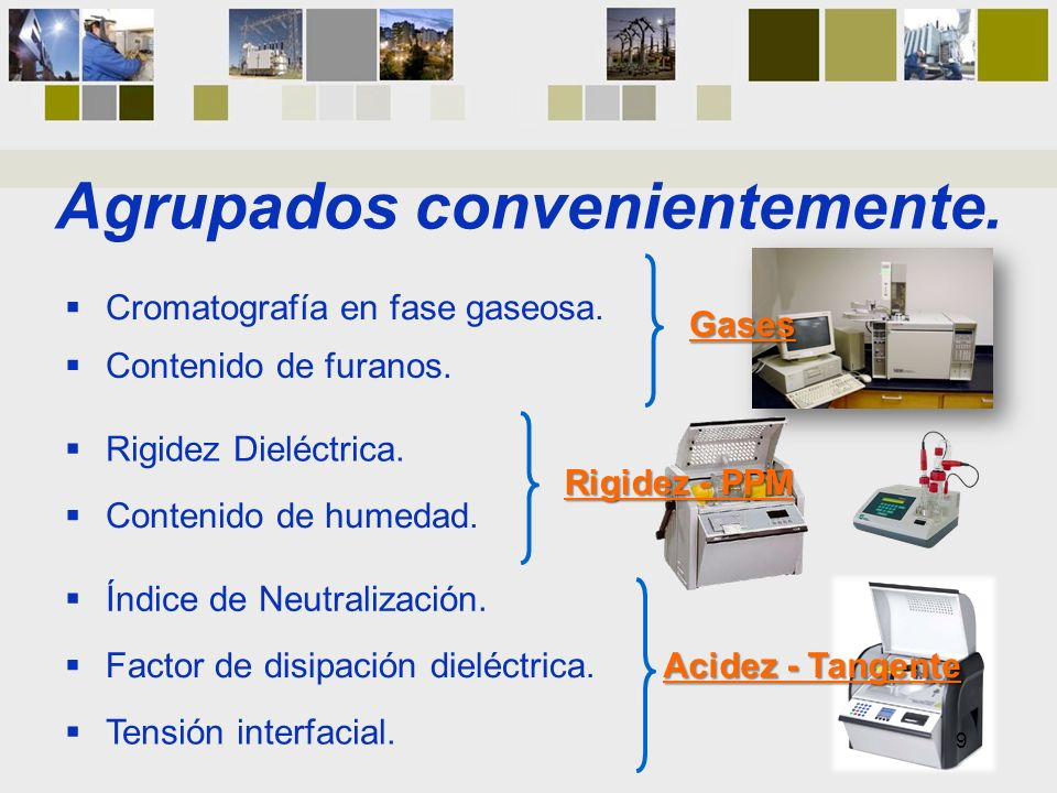 Aplicación Informática Auxiliar.Reúne y ordena la información referente a parámetros de aceite.