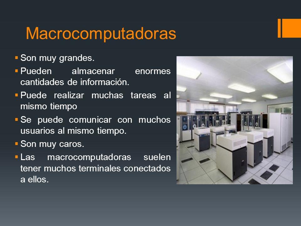 Cray-1, Cray-2, Control Data Cyber 205 y 10-A ETA. ALGUNOS EJEMPLOS DE SUPERCOMPUTADORAS SON: