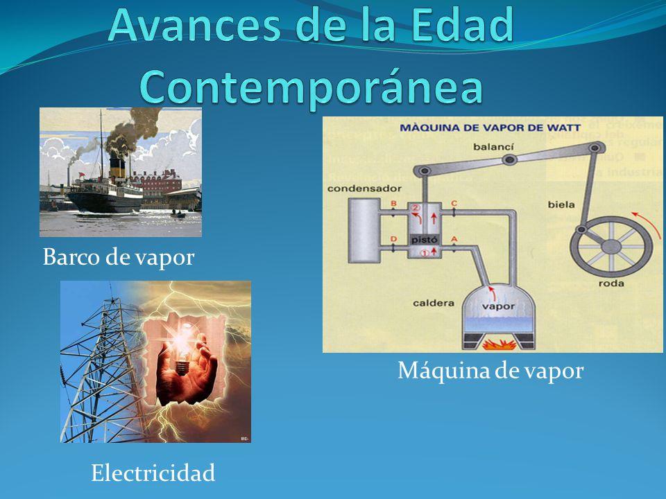 Barco de vapor Máquina de vapor Electricidad