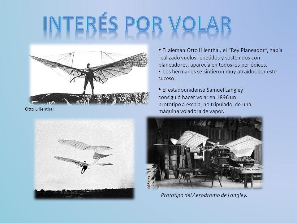 Comenzaron a imitar lo planeadores de Otto Lilienthal 1900 :prueban su primer planeador, un biplano de 5 metros de envergadura y el sistema fue empleado para las cometas.
