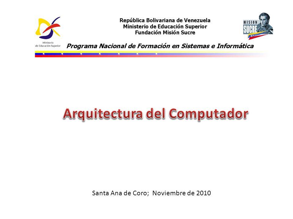 Santa Ana de Coro; Noviembre de 2010