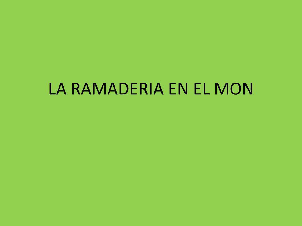LA RAMADERIA EN EL MON