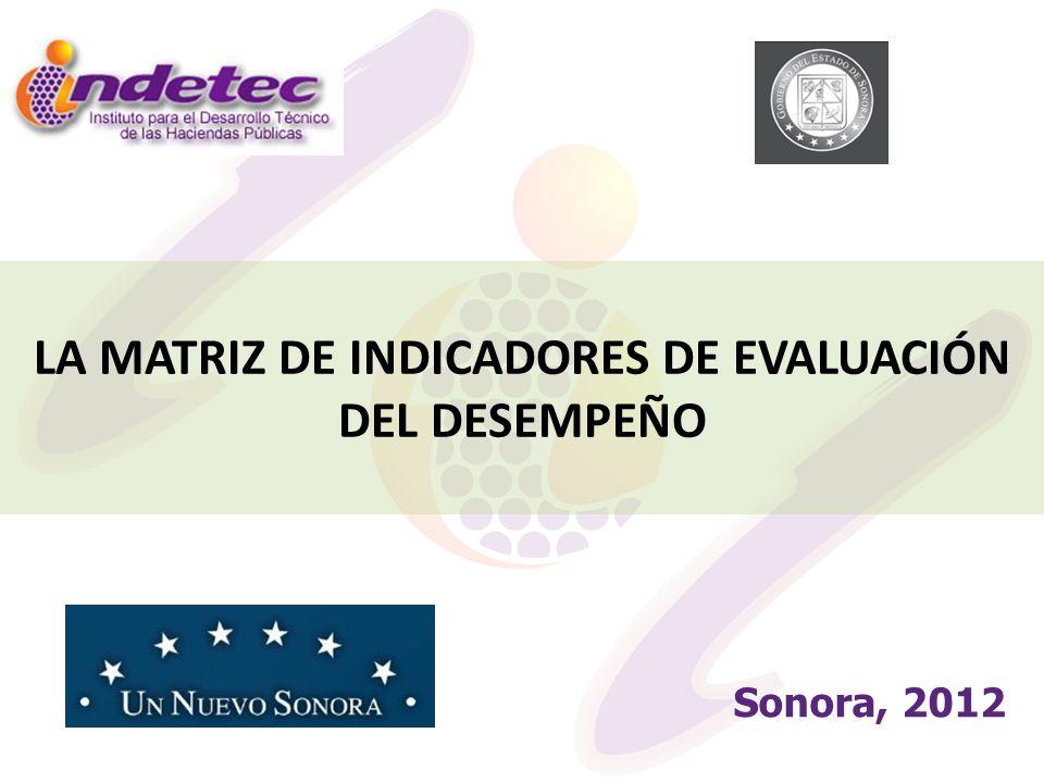 La Matriz de Indicadores es el referente para la medición del desempeño que permite evaluar políticas públicas y resultados de los programas.