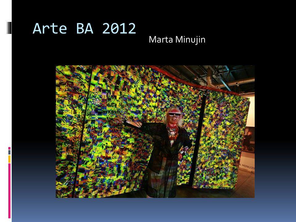 Arte BA 2012 Marta Minujin