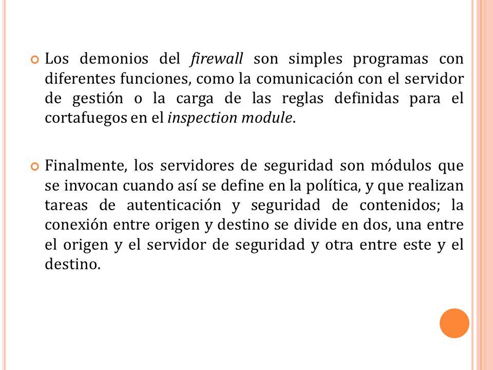 I NSTALACIÓN DE F IREWALL -1 (UNIX) 1.Desabiltar el IP Forwarding.