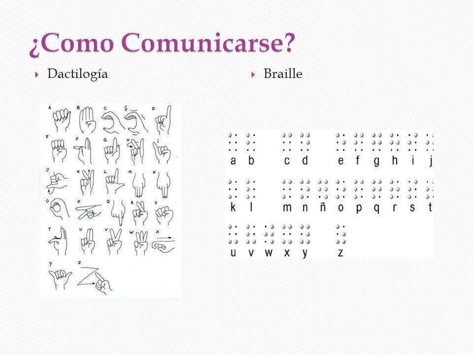 Dactilogía Braille