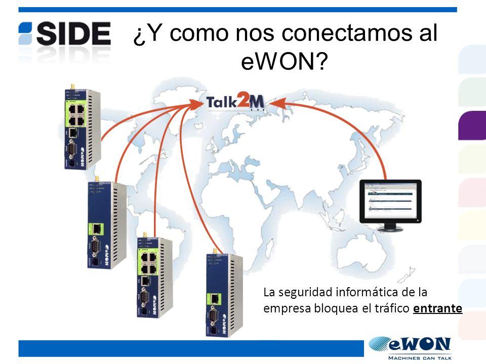 ¿Qué necesito para conectarme al Talk2M.- Abrir un puerto en el firewall para el tráfico entrante.