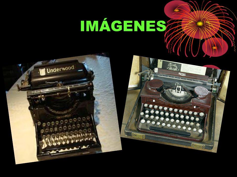 Máquina de escribir braille A principios del siglo XX llega a España una de las primera máquinas de escribir en Braille, una Picht de tecnología alema