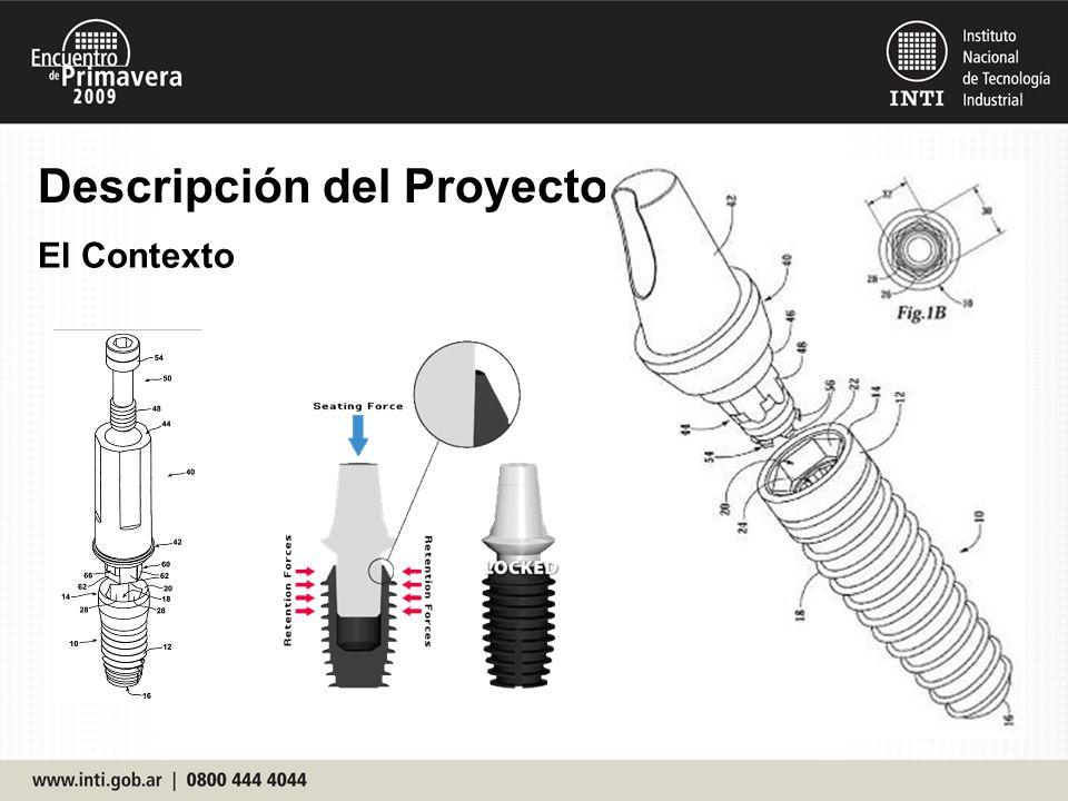 Descripción del Proyecto El Ensayo ISO 14801 - Dentistry.