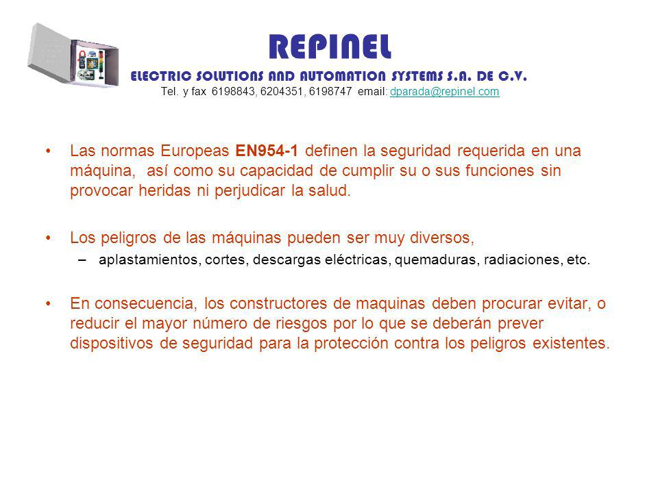 REPINEL ELECTRIC SOLUTIONS AND AUTOMATION SYSTEMS S.A.