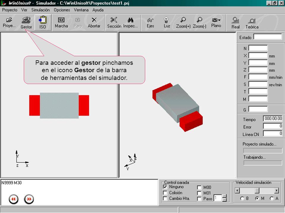 Alecop S.Coop Mondragón (Guipuzcoa) Spain Tlf. 00 943 712 40 www.alecop.com Para acceder al gestor pinchamos en el icono Gestor de la barra de herrami