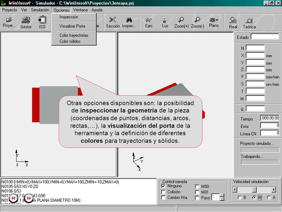 Alecop S.Coop Mondragón (Guipuzcoa) Spain Tlf. 00 943 712 40 www.alecop.com Otras opciones disponibles son: la posibilidad de inspeccionar la geometrí