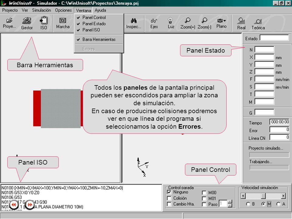 Alecop S.Coop Mondragón (Guipuzcoa) Spain Tlf. 00 943 712 40 www.alecop.com Todos los paneles de la pantalla principal pueden ser escondidos para ampl