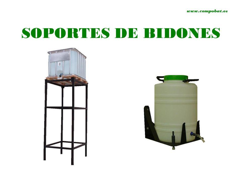 www.compobat.es SOPORTES DE BIDONES