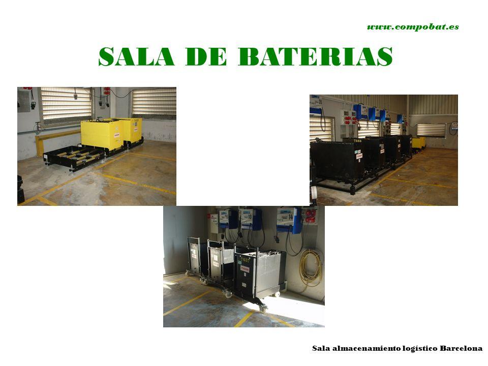 www.compobat.es SALA DE BATERIAS Sala almacenamiento logístico Barcelona