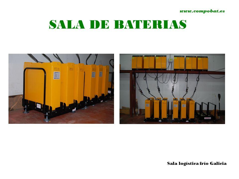 www.compobat.es SALA DE BATERIAS Sala logística frío Galicia