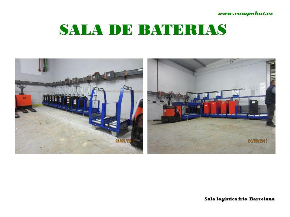 www.compobat.es SALA DE BATERIAS Sala logística frío Barcelona
