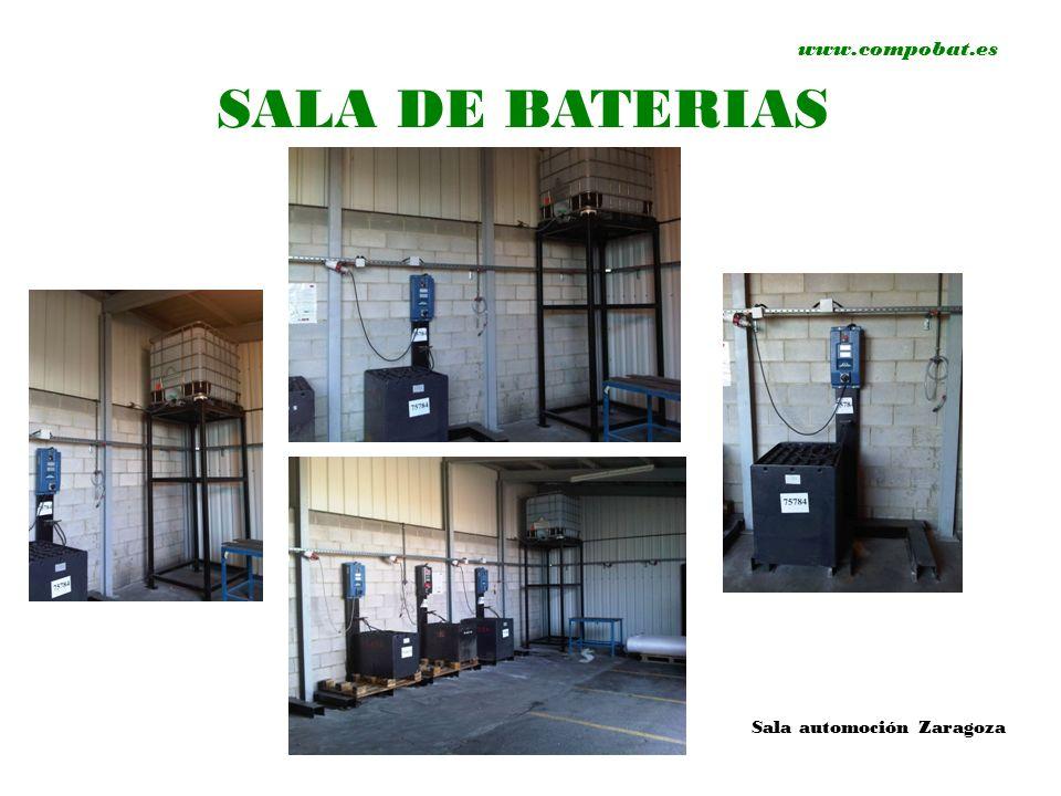 www.compobat.es SALA DE BATERIAS Sala automoción Zaragoza