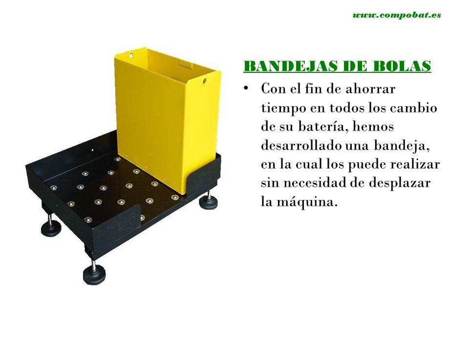 www.compobat.es SALA DE BATERIAS Sala almacenamiento logístico Plaza Zaragoza