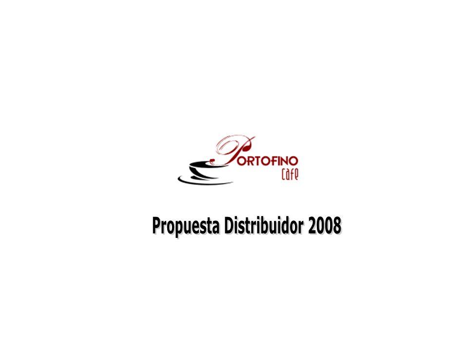 Objetivo: Generar las condiciones para que un distribuidor en 6 meses logre: - Colocar 12 máquinas de café en comodato - Vender un promedio mínimo de 500 kg/mes de Café - Vender 150 kg/mes en clientes sin entrega de máquinas - Equilibrar el negocio (Ingresos – Egresos = 0) - Sentar las bases para un crecimiento sostenido - Minimizar el riesgo por parte del distribuidor