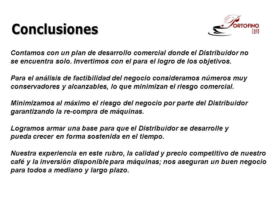 Contamos con un plan de desarrollo comercial donde el Distribuidor no se encuentra solo.