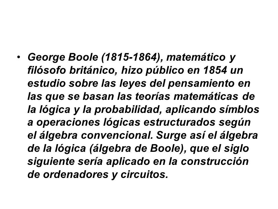 Resumen de la historia previa al siglo XX INSTRUMENTOS DE CÁLCULO ABACO DESARROLLO MATEMÁTICO Algebra de Boole HUESOS DE NAPIER Hollerith y su máquina censadora REGLA DE CÁLCULO RELOJ CALCULADOR PASCALINA RUEDA DE LEIBNIZ