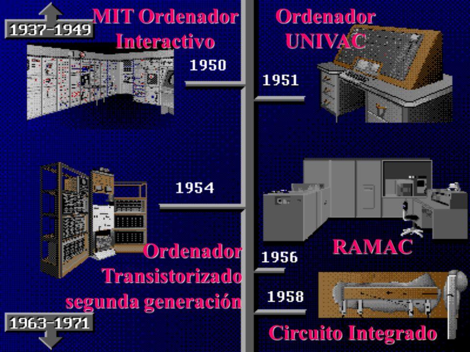 La Segunda Generación: (mediados de la década del 50) LasLas máquinas empleaban circuitos transistorizados como elementos reemplazantes del Tubo de va