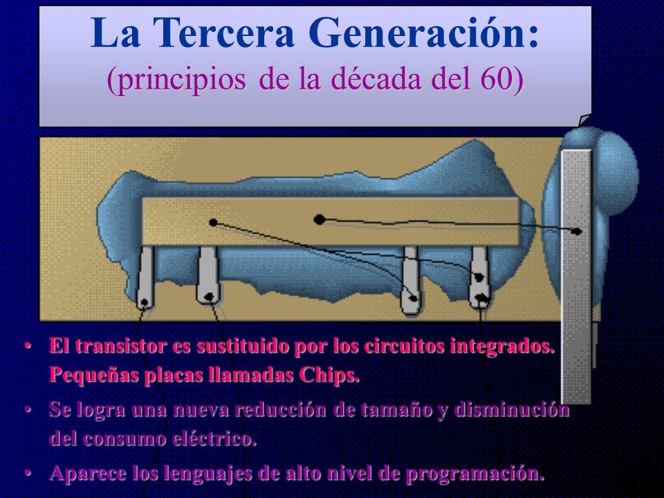 MIT Ordenador Interactivo Ordenador UNIVAC RAMAC Ordenador Transistorizado segunda generación Circuito Integrado