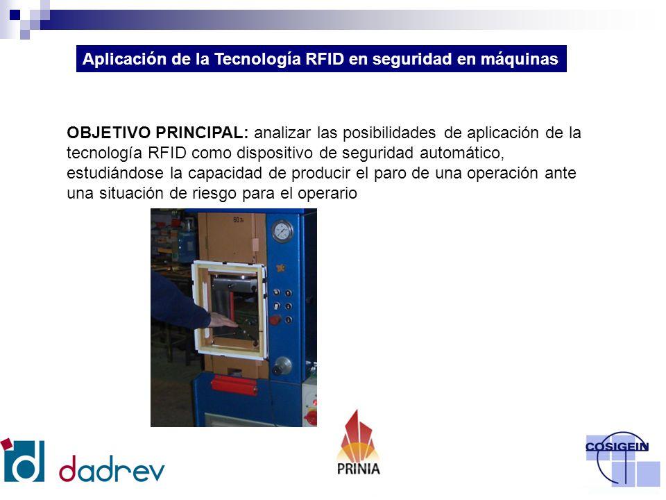 La tecnología de identificación por radiofrecuencia (RFID, Radio Frequency Identification).