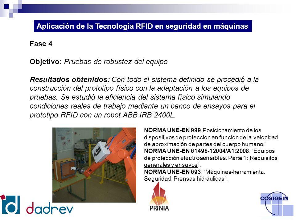 Fase 5 Objetivo: Estudio de alternativas de aplicación del dispositivo: sintonización y optimización según el equipo a controlar.