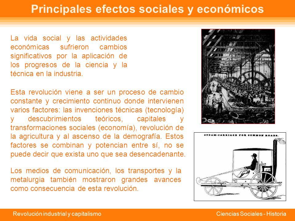 Revolución industrial y capitalismo Ciencias Sociales - Historia Origen de la Revolución Industrial El concepto