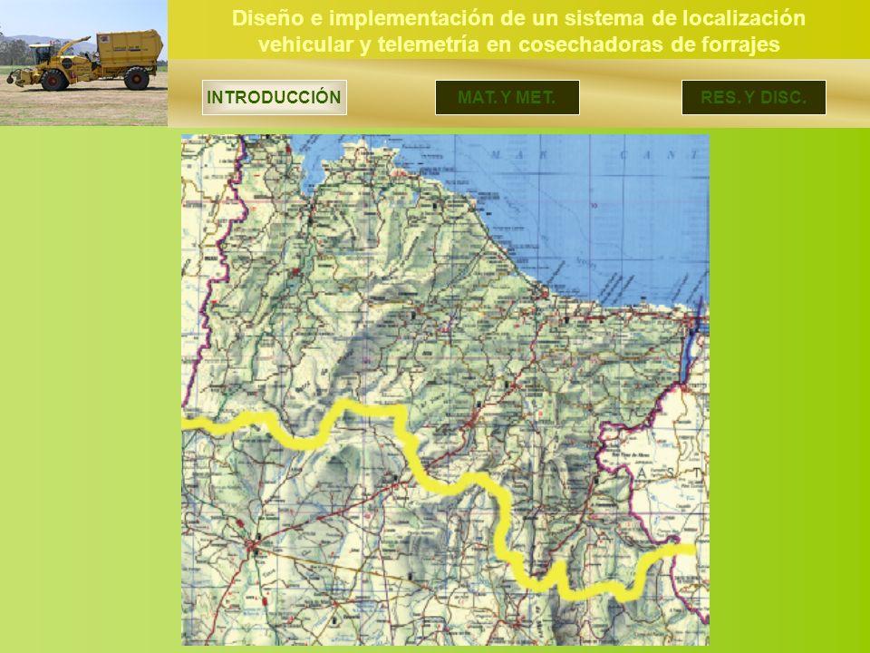Diseño e implementación de un sistema de localización vehicular y telemetría en cosechadoras de forrajes INTRODUCCIÓN MAT.