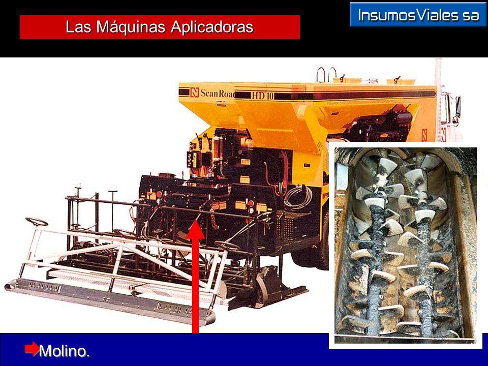 Las Máquinas Aplicadoras Molino. Molino.
