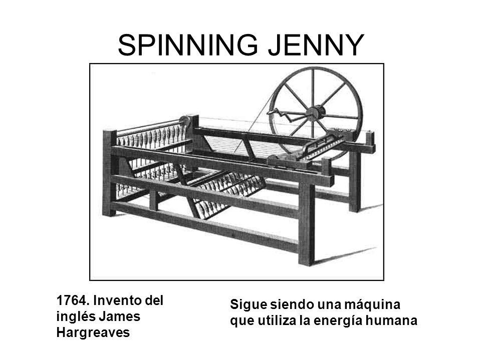 SPINNING JENNY 1764.