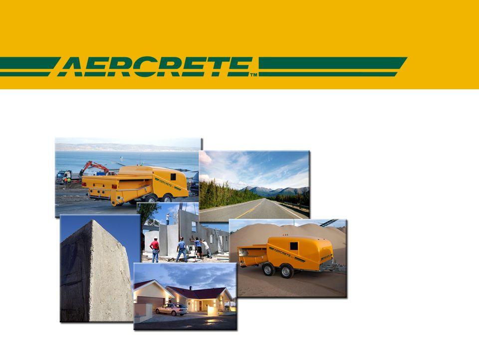 AERCRETE FC - Campos de aplicación AERCRETE FC para productos prefabricados Paredes y piezas para techado Vigas Baldosas Bloques para muros