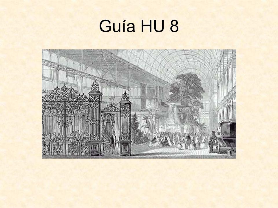 Claves de la Guía HU 8 PreguntaClavePreguntaClave 1D9A 2C10D 3E11E 4D12E 5B13C 6D14A 7D15C 8C