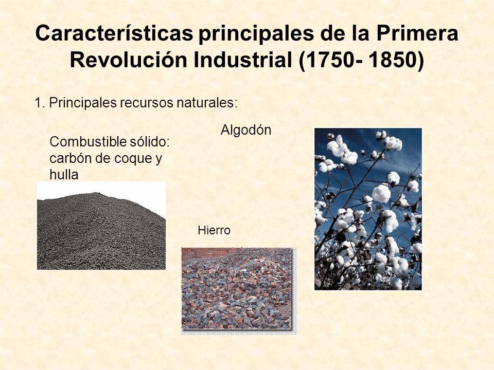 2. Principales sectores productivos FundicionesIndustria textil