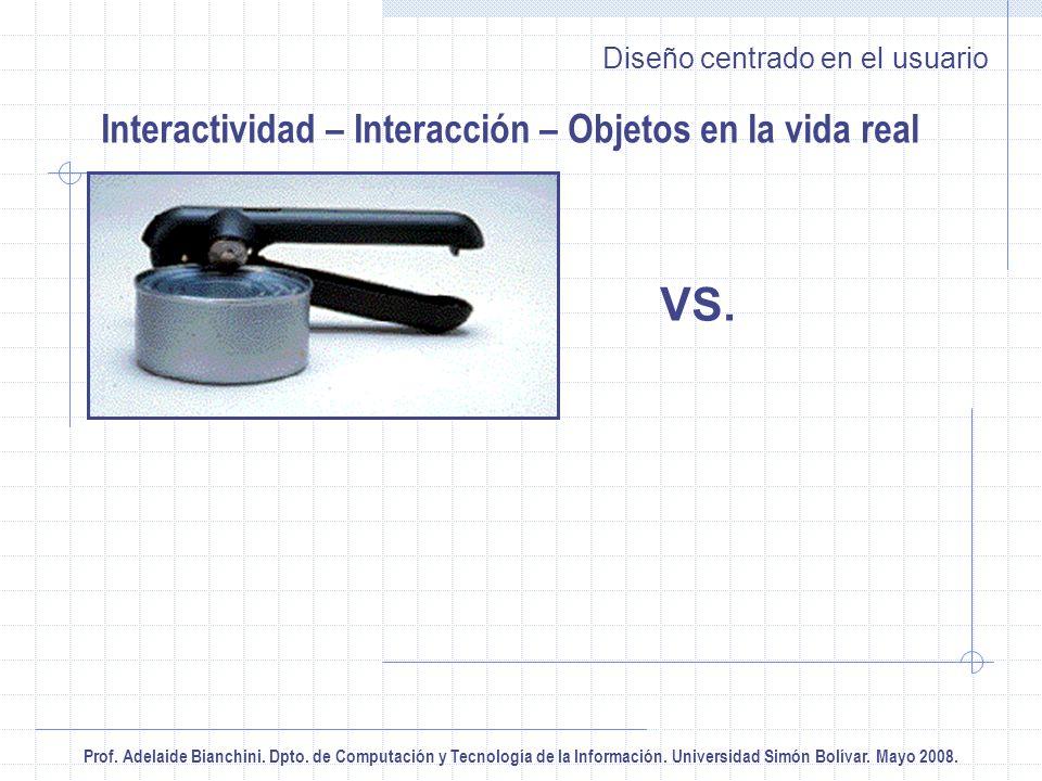 Prof. Adelaide Bianchini. Dpto. de Computación y Tecnología de la Información.