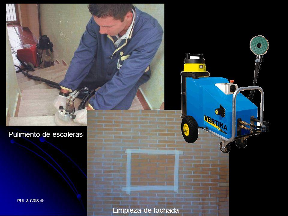 PUL & CRIS ® Pulimento de escaleras Limpieza de fachada