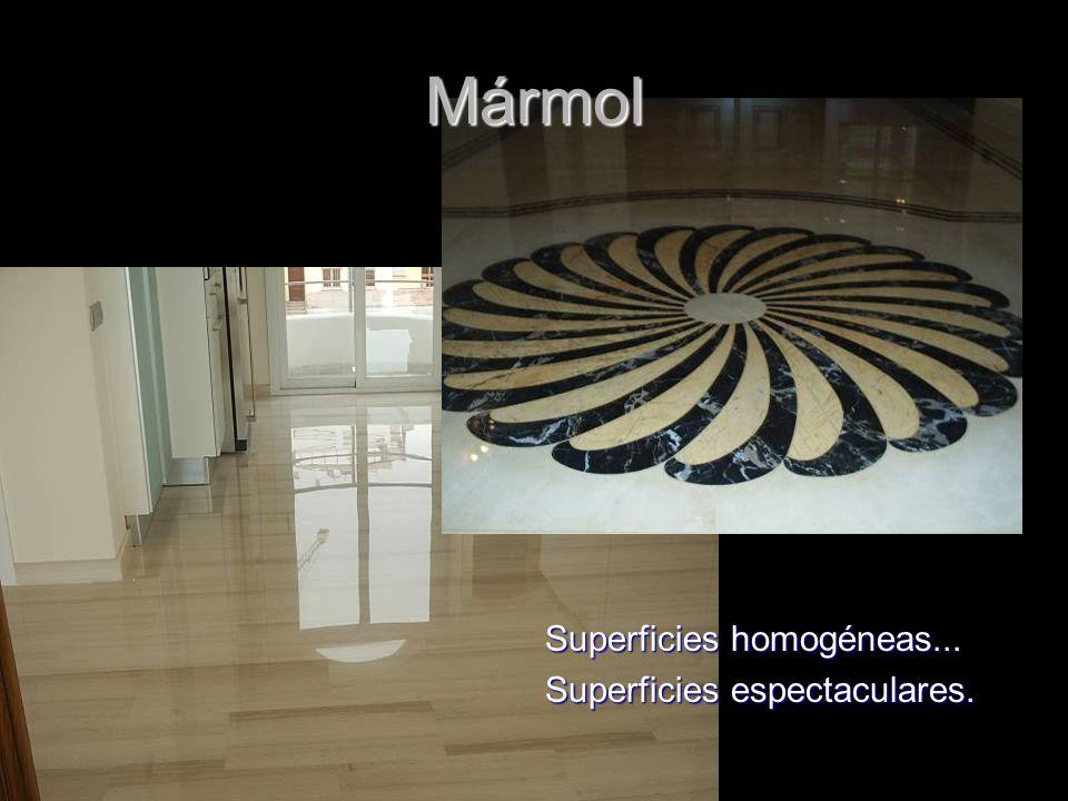 PUL & CRIS ® Superficies homogéneas... Superficies espectaculares. Mármol