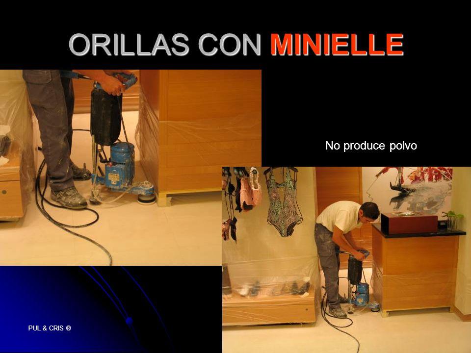 PUL & CRIS ® ORILLAS CON MINIELLE No produce polvo