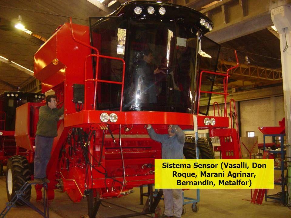 Sistema Sensor (Vasalli, Don Roque, Marani Agrinar, Bernandin, Metalfor)